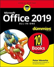 Cover of: Office 2019 All-in-One For Dummies (Office All-in-one for Dummies)