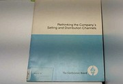Cover of: Rethinking the company's selling and distribution channels