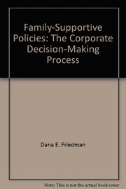 Cover of: Family-supportive policies | Dana E. Friedman