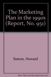 Cover of: The marketing plan in the 1990s