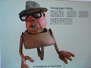 Cover of: Hand and rod puppets | HansjuМ€rgen Fettig