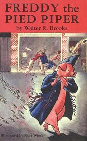 Cover of: Freddy the Pied Piper | Walter R. Brooks