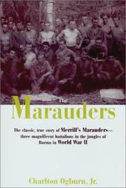Cover of: The Marauders