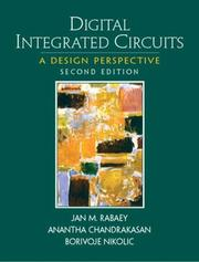 Cover of: Digital integrated circuits