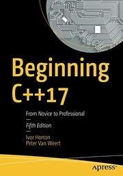Cover of: Beginning C++17: From Novice to Professional