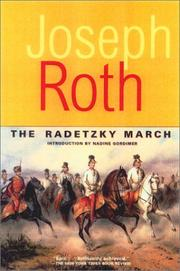 Cover of: The Radetzky March (Works of Joseph Roth)