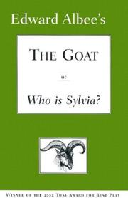 Cover of: The goat, or, Who is Sylvia?