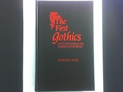 Cover of: The first Gothics | Frederick S. Frank
