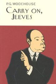 Cover of: Carry On, Jeeves