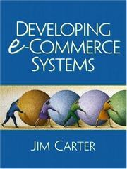Cover of: Developing e-Commerce Systems | Jim A. Carter