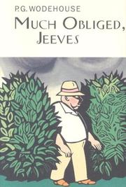 Cover of: Much Obliged, Jeeves