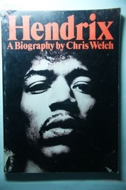 Cover of: Hendrix; biography. | Chris Welch