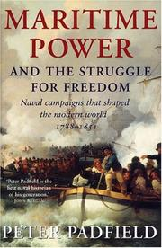 Cover of: Maritime Power and Struggle For Freedom | Peter Padfield