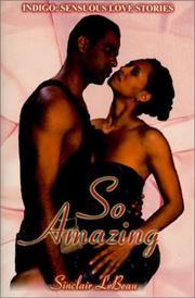 Cover of: So amazing | Sinclair LeBeau