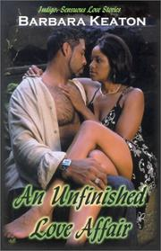 Cover of: unfinished love affair | Barbara Keaton