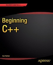 Cover of: Beginning C++
