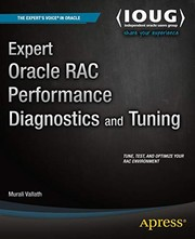 Cover of: Expert Oracle RAC Performance Diagnostics and Tuning