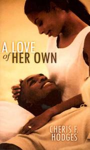 Cover of: A Love of Her Own | Cheris Hodges