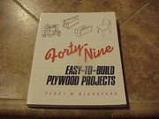 Cover of: 49 easy-to-build plywood projects | Percy W. Blandford