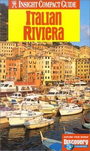 Cover of: Insight Compact Guide Italian Riviera (Insight Compact Guides Italian Riveria)