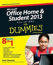 Cover of: Microsoft Office Home and Student Edition 2013 All-in-One For Dummies