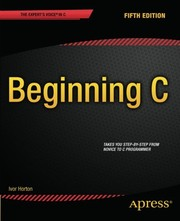 Cover of: Beginning C, 5th Edition (Expert's Voice in C)