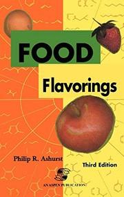 Cover of: Food flavourings |
