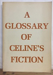 Cover of: A glossary of Céline