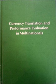 Currency translation and performance evaluation in multinationals