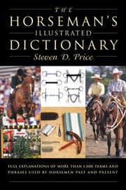 Cover of: The Horseman's Illustrated Dictionary | Steven D. Price
