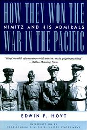 Cover of: How they won the war in the Pacific: Nimitz and his admirals