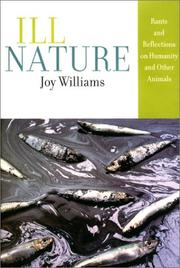 Cover of: Ill Nature | Joy Williams