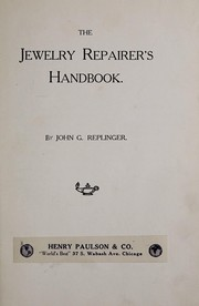 Cover of: The jewelry repairer
