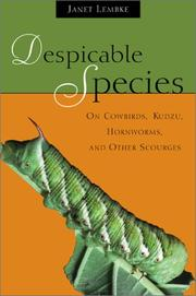 Cover of: Despicable Species