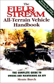 Cover of: The Field & Stream All-Terrain Vehicle Handbook | Monte Burch