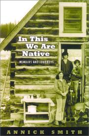 Cover of: In This We Are Native