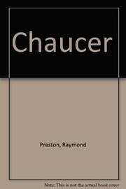 Cover of: Chaucer. | Raymond Preston