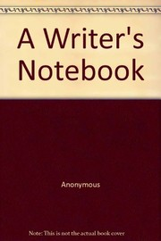 Cover of: A writer's notebook
