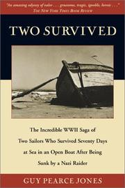 Cover of: Two Survived | Guy Pearce Jones