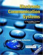 Cover of: Electronic Communication Systems | William Schweber