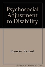 Psychosocial adjustment to disability