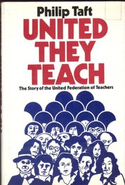 Cover of: United they teach