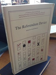 Cover of: The Referendum device
