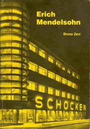 Cover of: Erich Mendelsohn