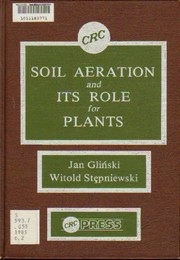Cover of: Soil aeration and its role for plants | Jan GlinМЃski