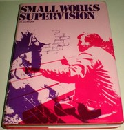 Cover of: Small works supervision | Bowyer, Jack.