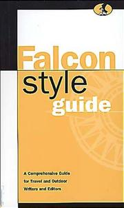 Cover of: Falcon style guide