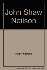 Cover of: John Shaw Neilson | Hugh Anderson
