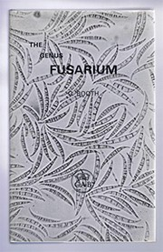 Cover of: The genus Fusarium | C. Booth