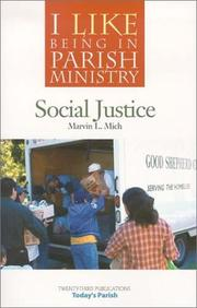 Cover of: I Like Being in Parish Ministry | Marvin K. Mich